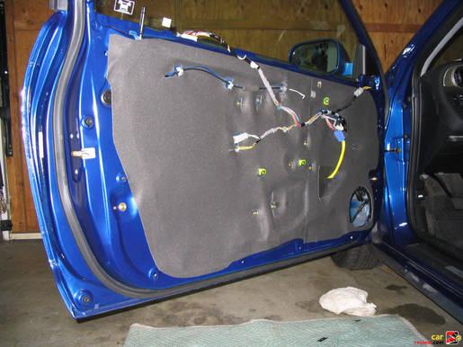RSX door panel