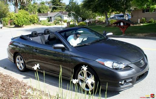 2007 Toyota Camry Solara convertible