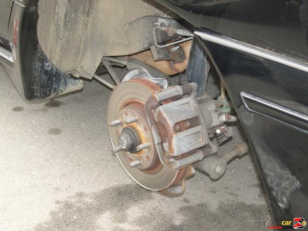 SHO missing a wheel