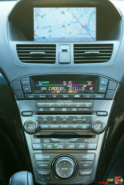 Acura navigation system + Acura/ELS surround sound