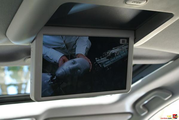 rear seat DVD package