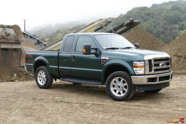 2008 Ford F-250 Super Duty Lariat SuperCab 4x4