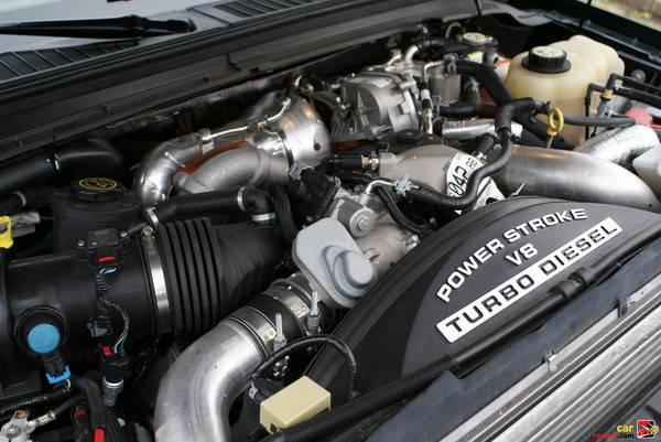 2008 Ford F-250 Super Duty Lariat SuperCab 4x4