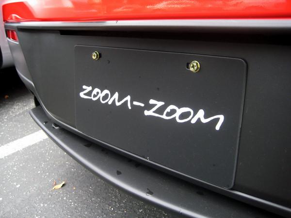 Mazdaspeed 3 factory plates