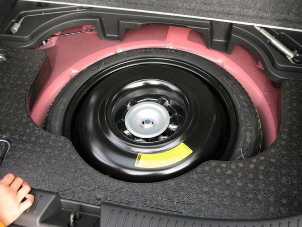 Mazdaspeed 3  spare tire