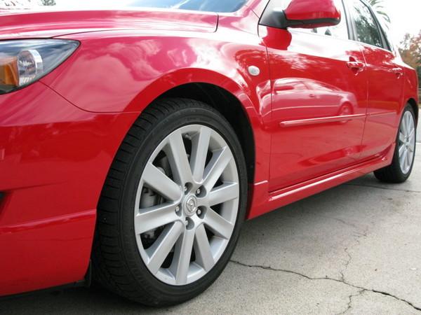 Mazdaspeed 3 18-inch wheels