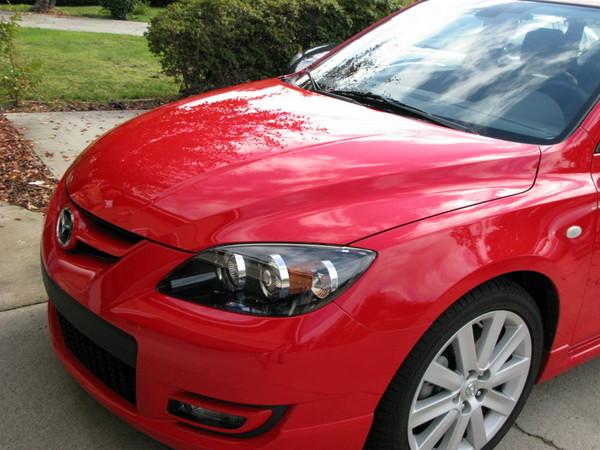 Mazdaspeed 3 front