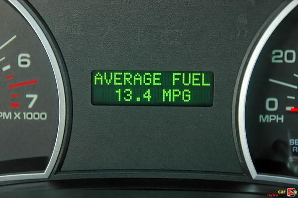 thirsty 4.6L V8