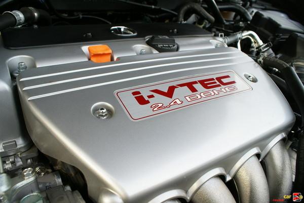 205 hp, 2.4 liter, i-VTEC engine