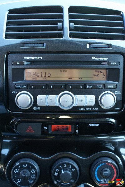 sound system Pioneer features iPod integration