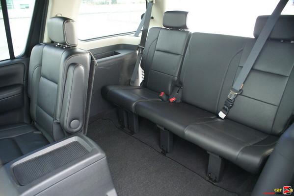 Power third-row 60/40 split flat-folding bench seat