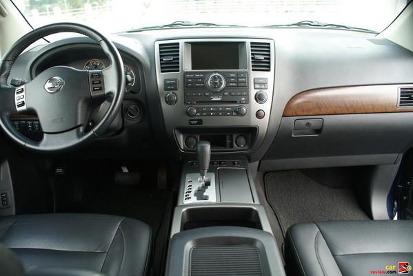 2008 Nissan Armada Interior