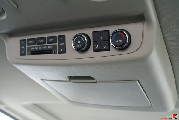 Rear seat DVD Entertainment System