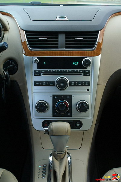 center controls and display
