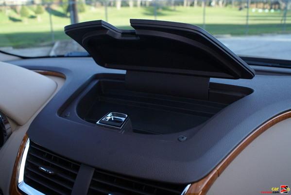 center dashboard compartment
