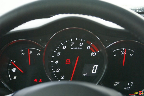 checkout the 9,000 RPM redline