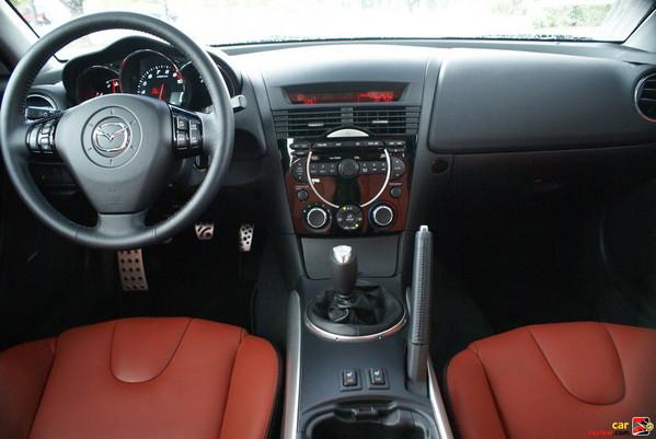 2008 Mazda RX-8 interior