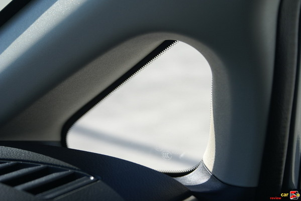 A-pillar window