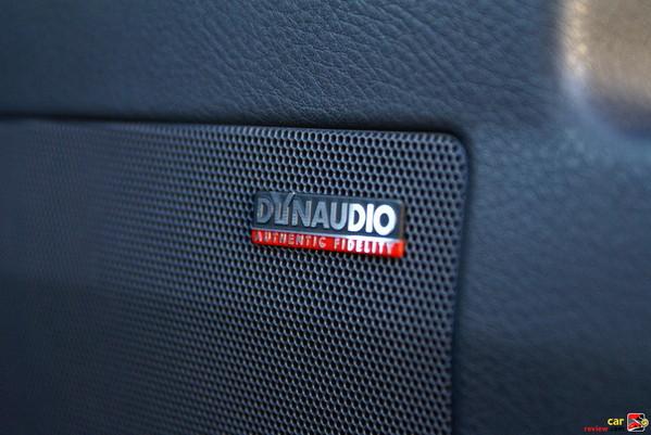 10-speaker Dynaudio sound system