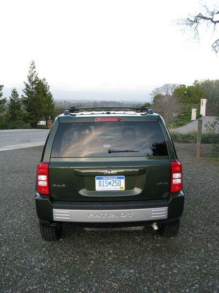 Jeep Patriot rear view