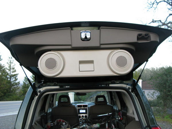 Jeep Patriot party speakers