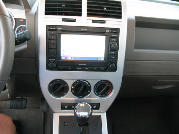 Jeep Patriot center console