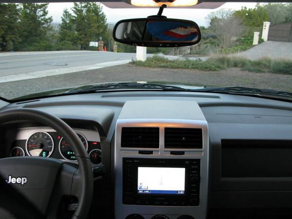 Jeep Patriot  dashboard