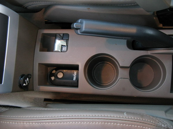 Jeep Patriot front cup holders