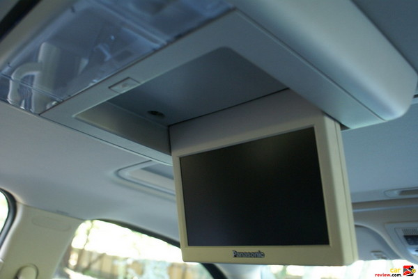 DVD rear seat entertainment system