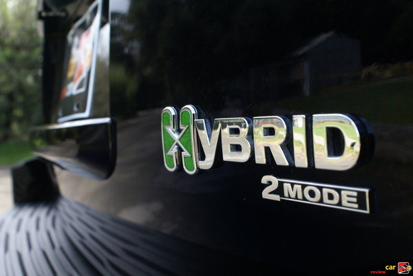 2-mode hybrid system