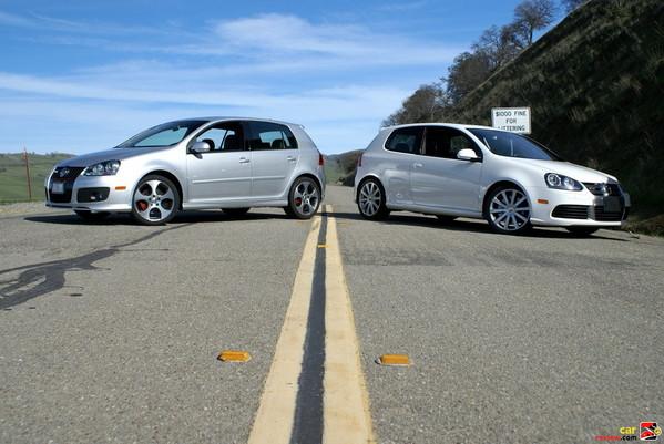 2008 Volkswagen R32 vs 2008 VW GTI
