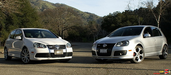 2008 Volkswagen R32 and GTI