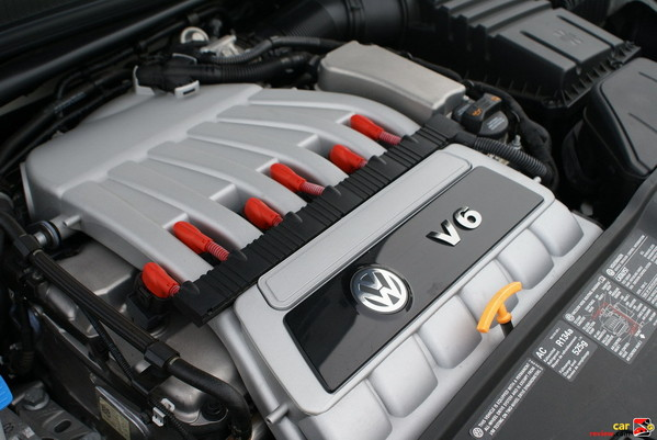 3.2L VR6 250hp, 6-cylinder Engine