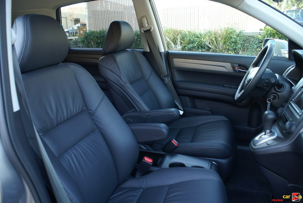 The leather-trimmed EX-L features heated front seats