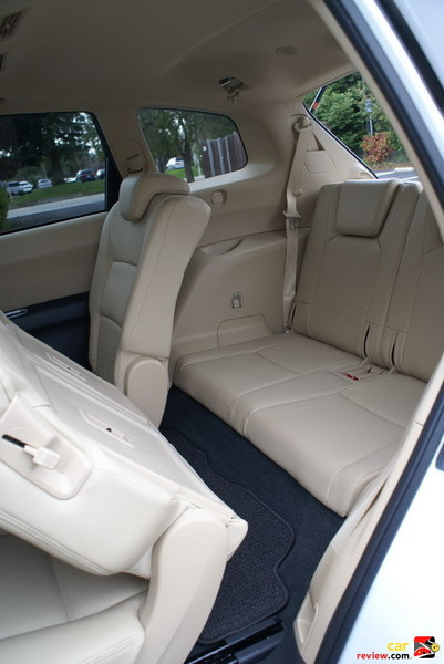 """60/40-split sliding 2nd-row seats with 7.8"""" fore/aft travel"""