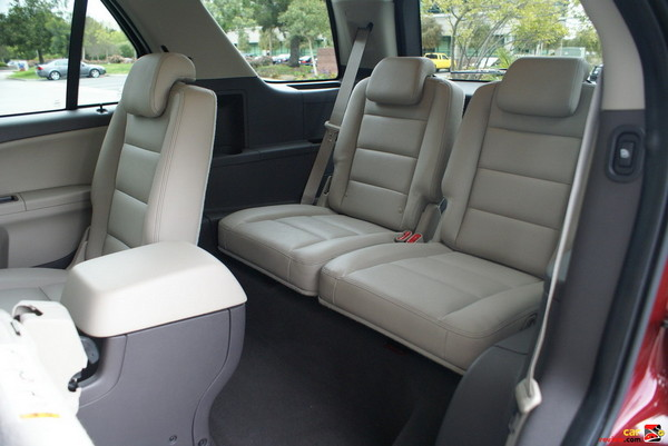 3rd-row fold-into-floor bench seat