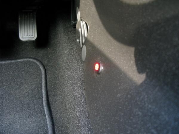 Ford Focus LED floor lighting