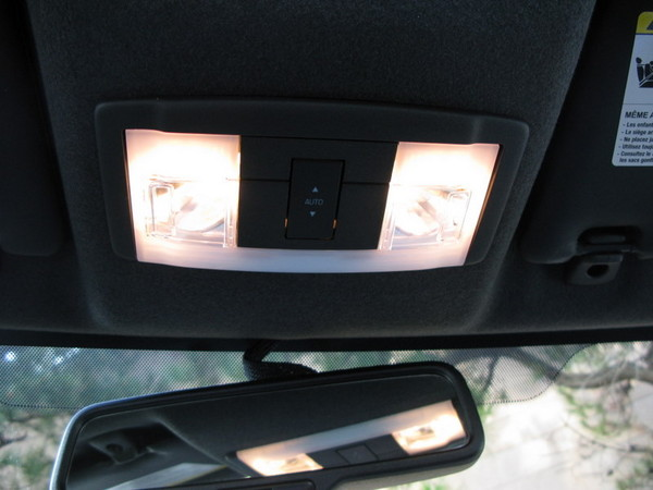 Ford Focus cabin lights