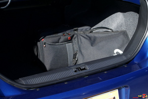 13.8 cubic feet of trunk space