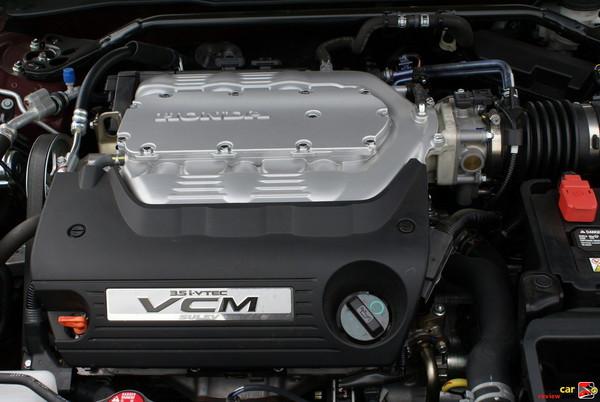 268 hp 3.5L V6 engine