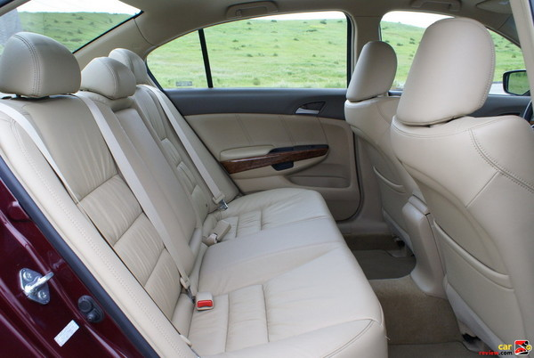 rear seats are leather trimmed