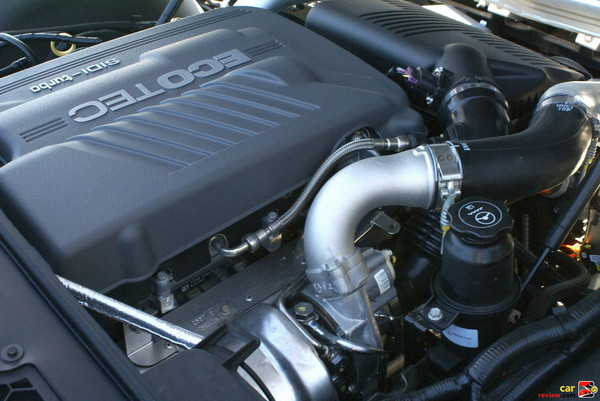 2.0L I4, 16 valve turbocharged engine