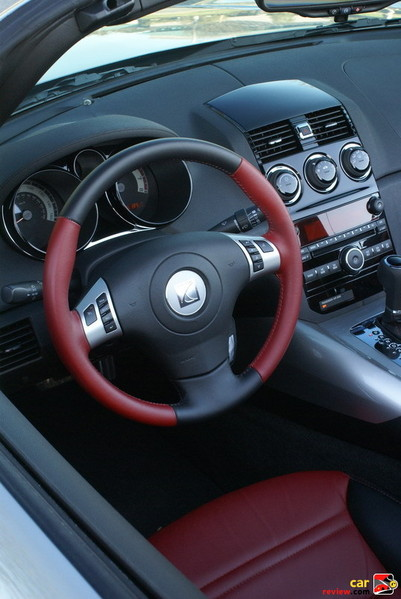 steering wheel w/Driver Information Center