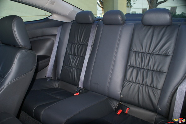 leather trimmed, rear seats