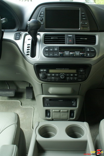 center stack w/console mounted shifter