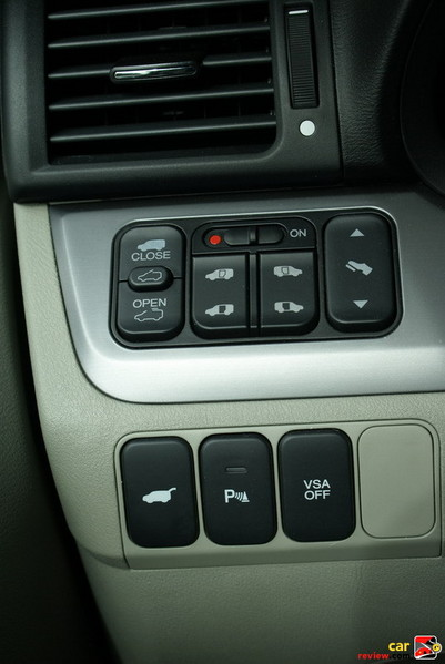 power switches for side doors and tailgate