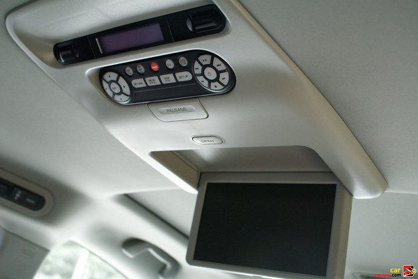 Honda DVD Rear Entertainment System