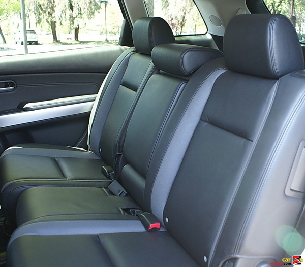 60/40 split fold-flat reclining 2nd row seats