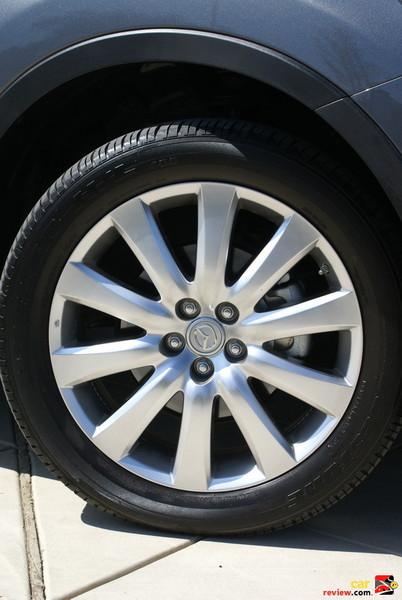 "20"" aluminum alloy bright finish wheels"
