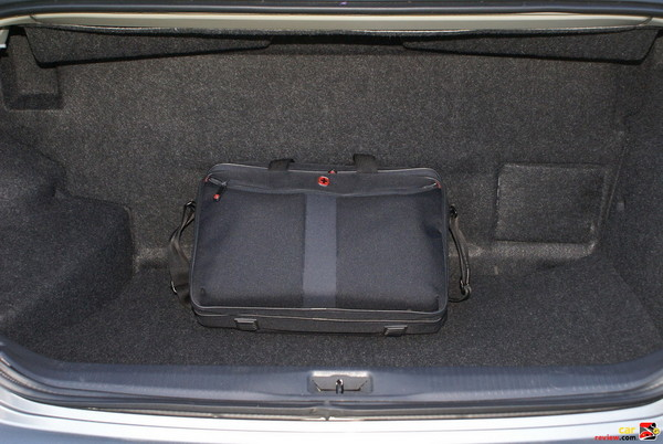 Carpeted Spacious Trunk